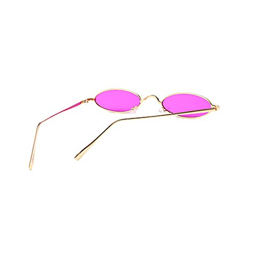 C5 lunettes ovales soleil de rétros étroites unisexes de YefreeCapsule forme soleil de en lunettes w71gnOzq