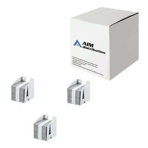 AIM Compatible Replacement for Ricoh Type F Copier Staples (3/PK-5000 Staples) (209307) - Generic by AIM (Image #1)