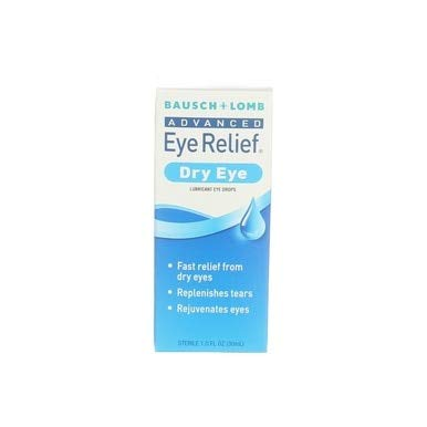 Bausch & Lomb Advanced Eye Relief Dry Eye Lubricant Eye Drops 1oz ( Packs of 2) ()