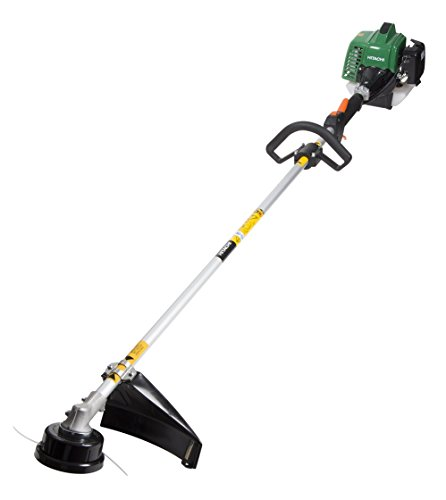 Gas Lawn Trimmer - Hitachi CG23ECPSL 22.5cc 2-Cycle Gas Powered Solid Steel Drive Shaft String Trimmer