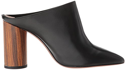 Leather on BCBGMAXAZRIA Women's Slip Antonia Black Mule HwYv8