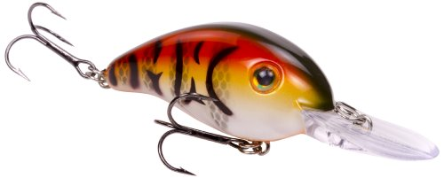 Strike King Pro-Model Series 3 Crankbait, DB Craw, 3.8-Ounce