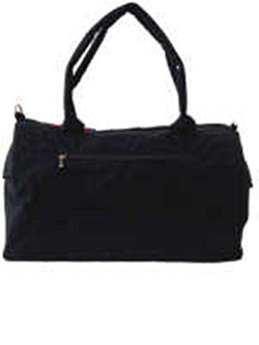 WHO AM I - Bolso mochila  para mujer negro