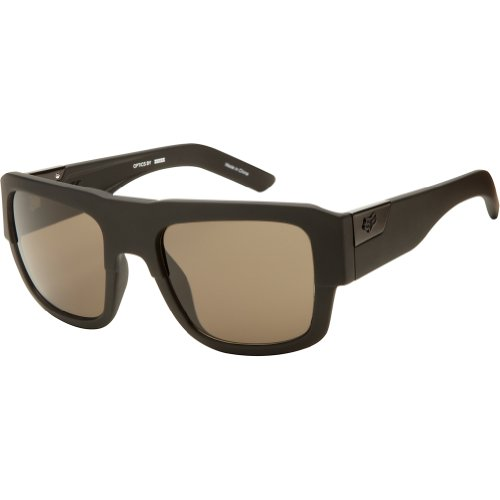 Fox Racing The Decorum 2013 Sunglasses Matte Black/Warm Gray One - Fox Sunglasses