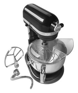NEW Kitchenaid Kp26m1xcv PRO 600 Stand Mixer 6qt Black One Day Shipping Good Gift Fast Shipping
