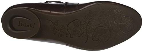 Brown Ballet Think Closed 41 Toe Women's Guad Flats Espresso qqSg6Rw