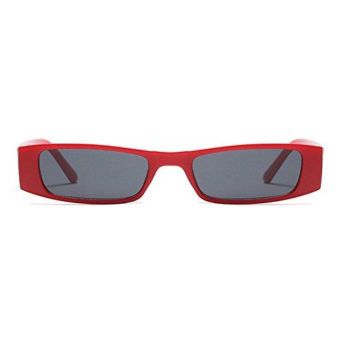 Style C6 400 Lunettes UV De Verres Soleil Street Protection Rock Unisexe Vintage Petits Carré rr614Wn