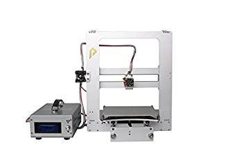 """Pxmalion CoreXZ 3D Printer Kit, Full Aluminum Alloy Structure, Single Extruder, Printing Size 8""""x8""""x8"""", Dual Drives,Works with PLA (One PLA Filament Included)"""
