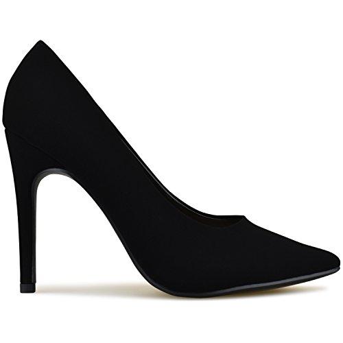 Women's Pump E Premier Heel Black Standard Nbpu Shoes 5qttwOAxf