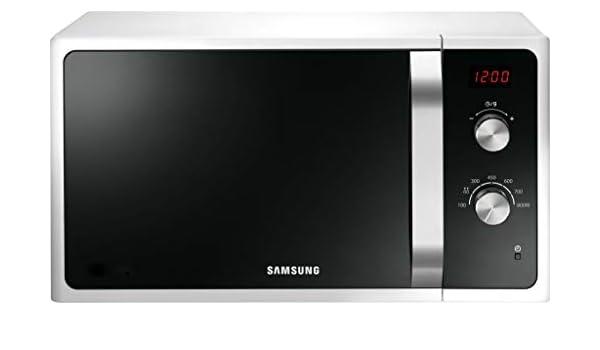 Samsung MWF300 MS23F300EEW/EG - Microondas (23 L, 800 W, 6 niveles ...