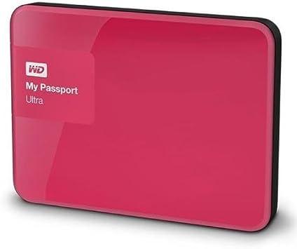 Western Digital WD My Passport Ultra 2TB External Hard Drive WDBBKD0020BPK Pink