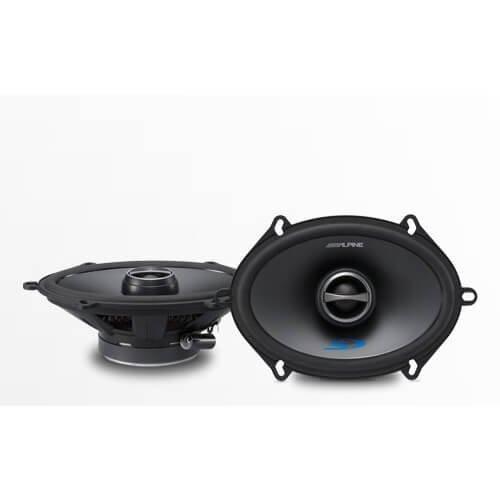 4 nx654 car coaxial speakers