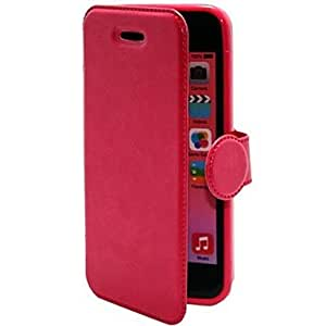 xiao Protective Leather PU TPU Flip Stand Case for iPhone 5c (Assorted Colors) , White
