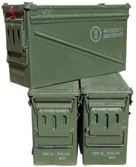 U.S Military 40MM Ammo Can Grade 1 3 Pack