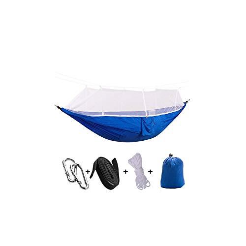 tdoor Mosquito Net Parachute Nylon Hammock Camping Hanging Sleeping Bed Swing Portable Double Travel Hammock Chair,Hd012-12 ()