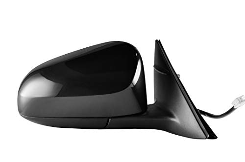 Passenger Side Unpainted Power Operated Non-Heated Side View Mirror for 2012-2014 Toyota Camry - TO1321275