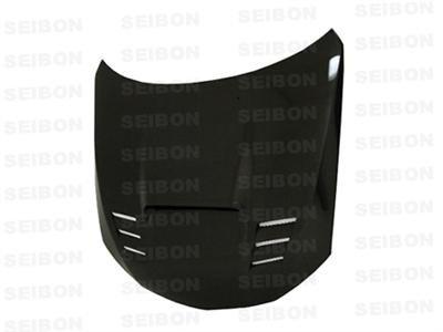 SEIBON 08-09 Impreza/WRX/STi Carbon Fiber Hood CWII GR