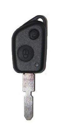 Carcasa para llave Plip Peugeot 106 306 406 607, con 2 ...