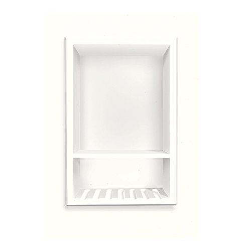 Best Deals! Transolid ACCESS0003-A5 Decor Solid Surface Recessed Shampoo Caddy 4-in L x 10-in W x 15...