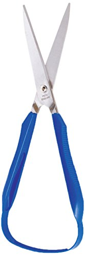 American Educational Products P-128 Right Hand Easi Grip Scissors, 75 mm, Pointed Blade ()