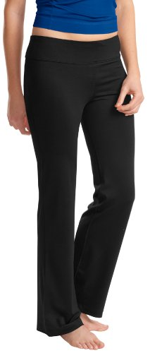 Yoga Clothing For You Ladies Moisture Wicking Performance Pants, 2XL Black