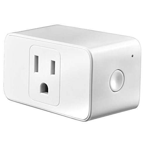 Meross WiFi Smart Plug, Mini Smart Plug Socket Outlet Compatible with Alexa and Google Assistant, Easy to Set Up, App Control from Anywhere, Timer Function, No Hub required, Occupy Only One Socket by OMORC