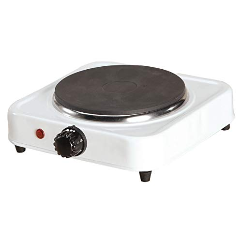 White Solid Single Top Hot Plate by The Home Marketplace ()