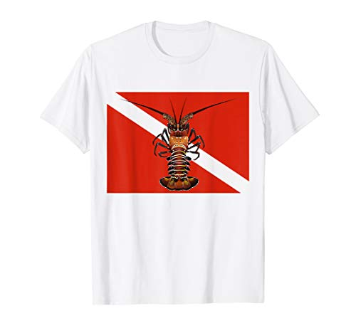 - Spiny Lobster Lobstering T-Shirt