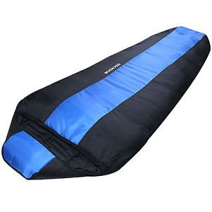 Big Sleeping Bag Large Size 225Cm Lightweight Camping Backpacking by Sleeping Bag