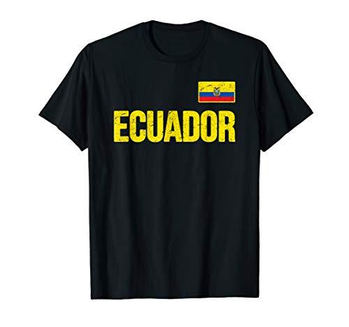 Ecuador T-shirt Ecuadorian Flag Souvenir Love Gift