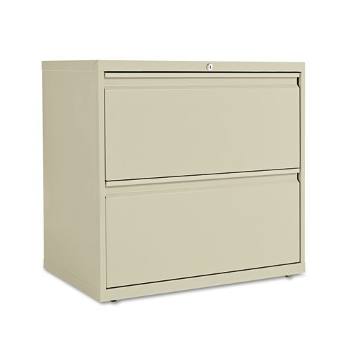 Alera LA523029PY 30 by 19-1/4 by 29-Inch 2-Drawer Lateral File Cabinet, Putty
