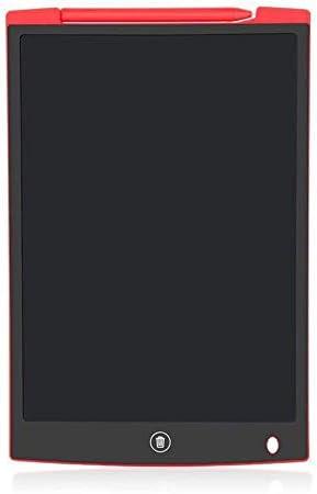 LKJASDHL 12インチ液晶タブレットライティングボード子供の早期教育落書きハンドペインティングボード液晶電子光エネルギー小さな黒板デジタルノートブック (色 : レッド)