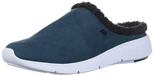 Anne Klein AK Sport Women's Teaser Sneaker Mule Slipper, Teal, 10.5 M US