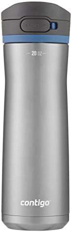 Contigo Garrafa de água AUTOPOP, 590 ml, tampa de milho azul