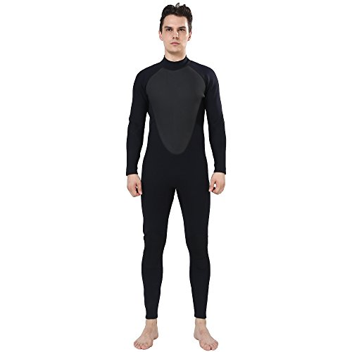 Men's 3mm Size Medium Full CR Neoprene Wetsuit Surfing - Wetsuit Mens