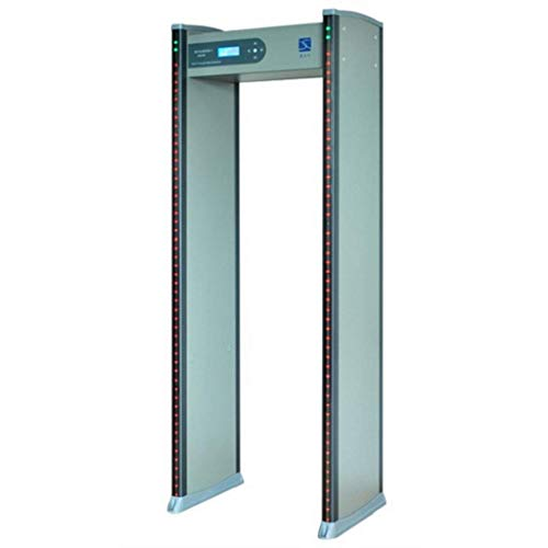 SEADOSHOPPING New Technology TCP/IP Walk-Through Metal Detector,Metal Detector Door Frame,Door Sensor,Detector Sensor,Airport Baggage Scanner Safety,Metro and Train Station Checkpoint Detector