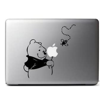 Winnie The Pooh Tigger Decal Sticker for Trackpad Macbook laptop Car Window SUV