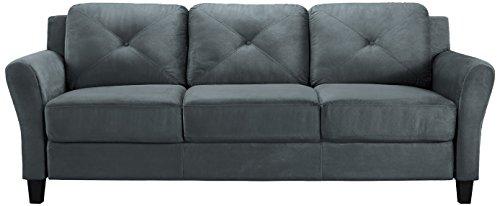 Incroyable Lifestyle Solutions Harrington Sofa In Grey, Dark Grey