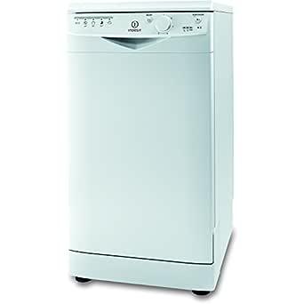 Indesit DSR15B Slimline - lavavajillas blanco: Amazon.es: Grandes ...