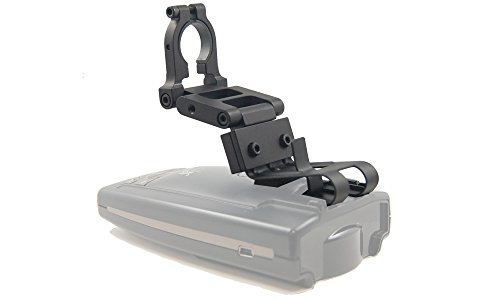 BlendMount BBE-2000R Aluminum Radar Detector Mount for Escort/Bel [Except MAX Series/EZ MAG- Compatible with Most American and Asian Vehicles - Made in USA - Looks OEM (Best Radar Detector For The Money)
