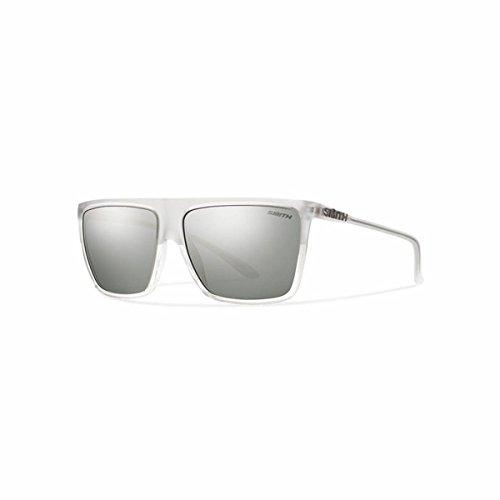 Smith Optics Men's Cornice Archive Sunglasses/Eyewear, Crystal Split/Super Platinum, Medium/Large