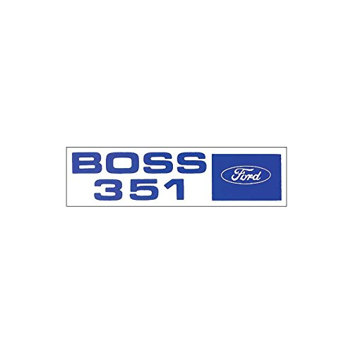 MACs Auto Parts 44-47270 Mustang Decal - Valve Cover - Boss 351