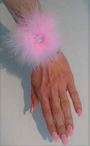 (French Feathers ChanelCC.Charm Pink Wrap)