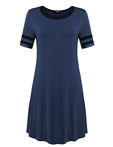 Buy below the knee cotton summer dresses - 2