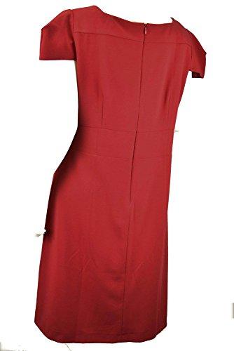 Glenfield Abito Donna Tubino Rosso 50 Manica Corta - Rosso 33b0b4bdead