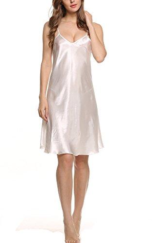 Avidlove - Camisola - para mujer White (FBA)