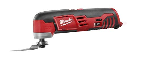 Milwaukee 2426-20 M12 12 Volt Redlithium Ion 20,000 OPM Variable Speed Cordless Multi Tool with Multi-Use Blade, Sanding Pad, and Multi-Grit Sanding Papers (Battery Not Included, Power Tool Only) -