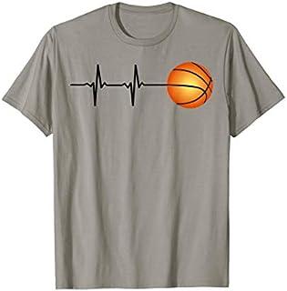 Heartbeat Basketball Player Tee shirt T-shirt | Size S - 5XL