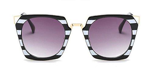 retro Lennon du inspirées lunettes vintage style soleil de Gradient métallique en cercle polarisées rond Gris YTwwZxSq