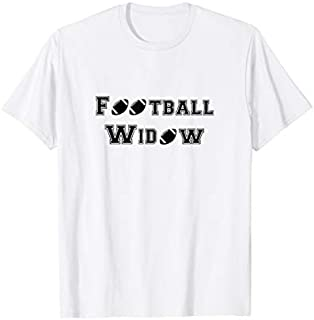 Football Coach Wife s for Women - Football Widow Tshirt T-shirt | Size S - 5XL